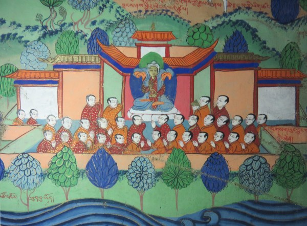 lower center left - phyags gyung trung ba