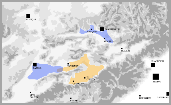 Xuan Da Research Areas Map (small letters)