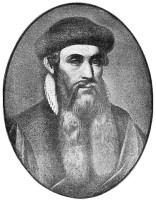 Johann Gutenberg (Public Domain Wikipedia)