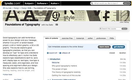 lynda-typography