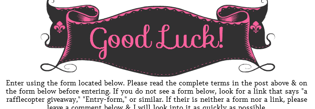 Good Luck Message