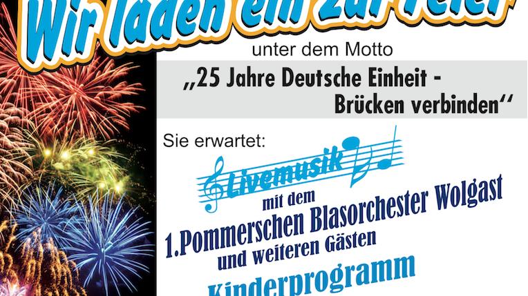 Plakat Deutsche Einheit A5