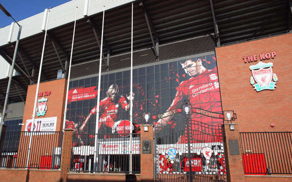 The Paisley Gateway of Anfield at Liverpool Football Club(Getty Images)