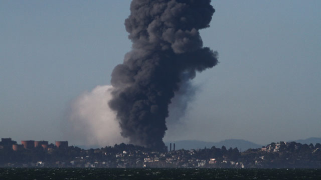 The Aug. 6, 2012 fire at the Chevron refinery in Richmond sent 15,000 people to the hospital.