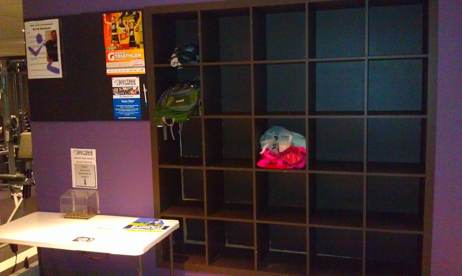 Мы думали, что в Фабрике Здоровья маленькие шкафчики. Посмотрите на эти :)