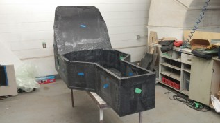 Chassis Initial Foam Build