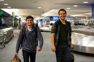 Mihai Esanu, on a co-op work term in Ottawa with Alcatel-Lucent, is reunited with Nik.