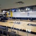 LIU Basketball Court Side View