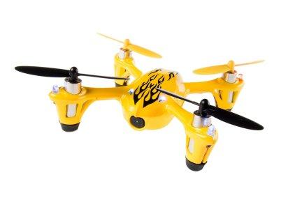 hubsan x4 107c yellow