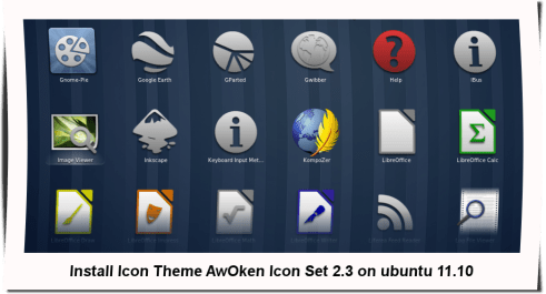 awoken icon set 2.3 gnome shell