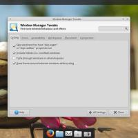 Xubuntu 14-04 window manager tweaker