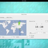 Ubuntu Gnome 14-04 date and time