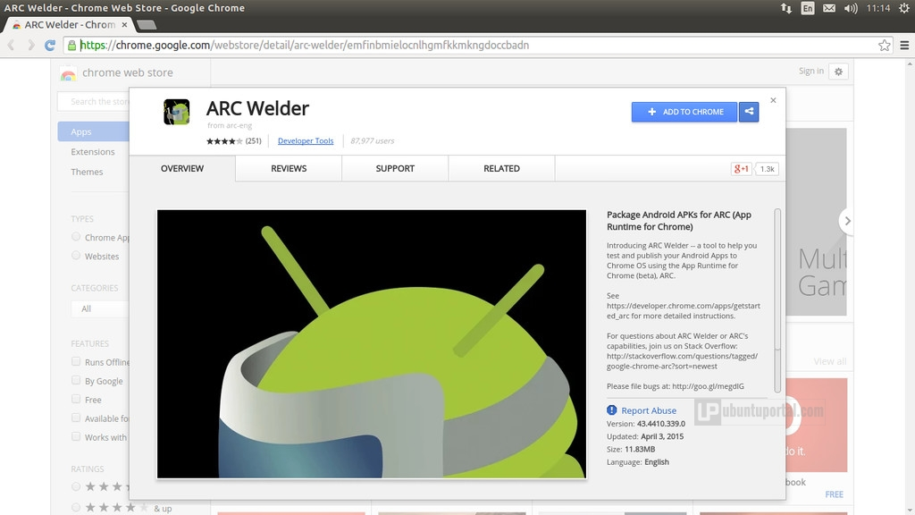 How to Run Android Apps with App Runtime for Chrome (ARC) Welder in Ubuntu - Ubuntu Portal