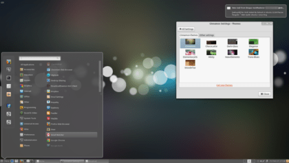 Cinnamon 1.3 Released : Comes With New Look and Includes the GNOME Tweak Tool features