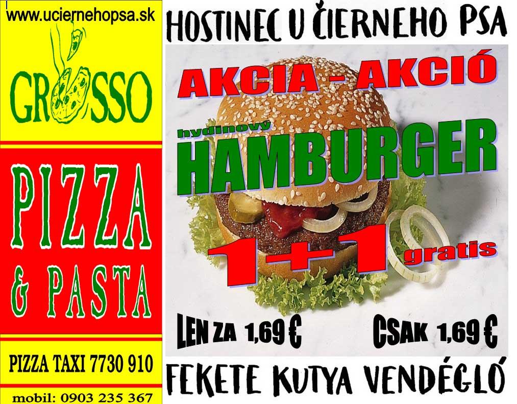 hamburger akcia