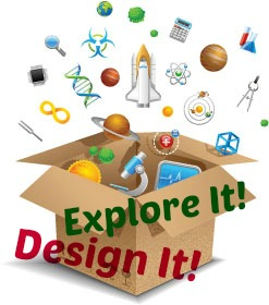 Rutgers Design It program with text