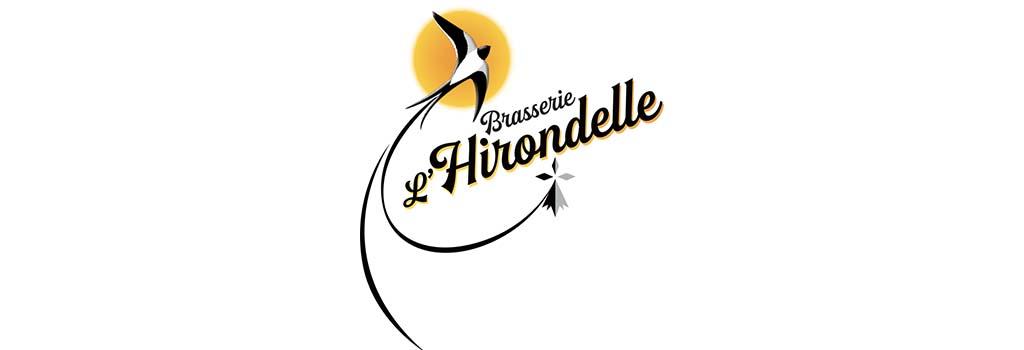 Visuel Partenaire - Logo Brasserie de L'Hirondelle
