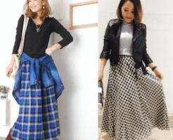checklongskirt ladys