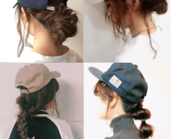 cap-ladys-hair-arrange