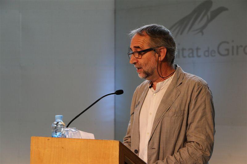 Dr. Xavier Besalú, durant la seva lliçó inaugural