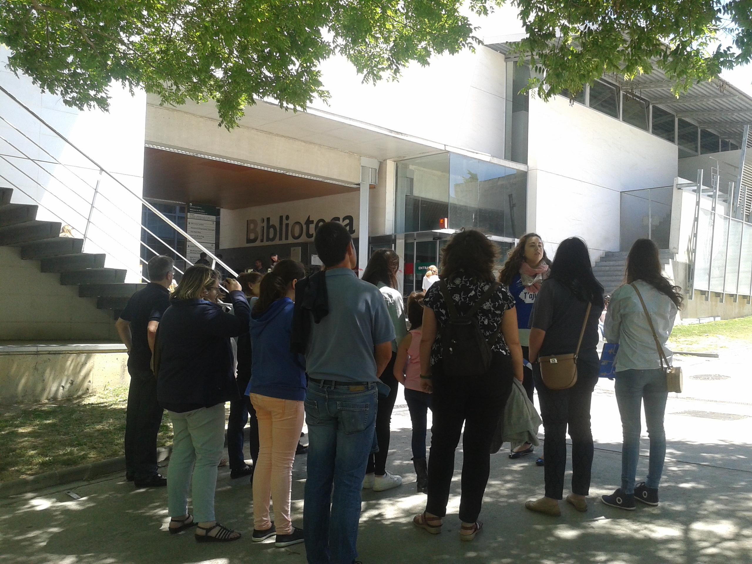 JPO Campus Montilivi Biblioteca