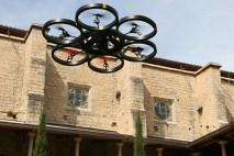 drons UdG Claustre Lletres