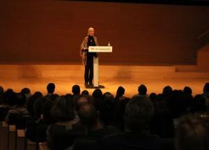 Jane Goodall Auditori de Girona, en el marc de la Càtedra Ferrater Mora