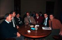 Membres de la comunitat universitària gironina al Parlament de Catalunya, 12 de desembre de 1991