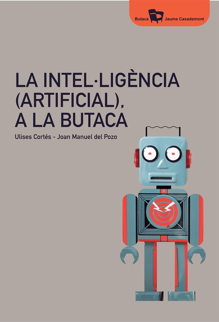 """Coberta del llibre """"La intel·ligència artificial a la Butaca"""""""""""