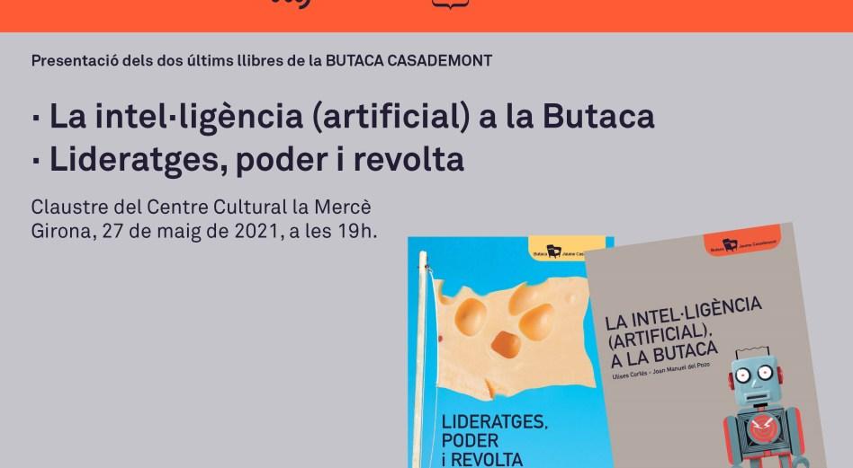 imatge INVITACiÓ PRESENTACió llibres BUTACA maig 2021