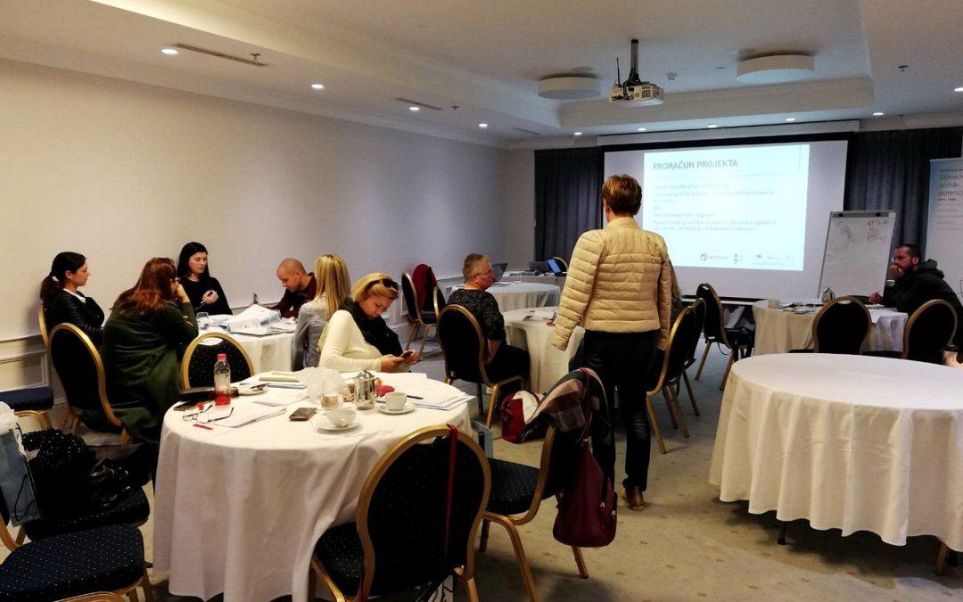 """Radionica: """" Učinkovita priprema kvalitetnog projekta za pozive iz Europskog socijalnog fonda (ESF )"""