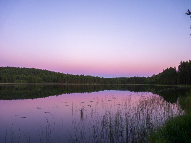Karelien-Sonnenuntergang2