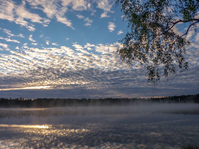 Sonnenaufgang Karelien