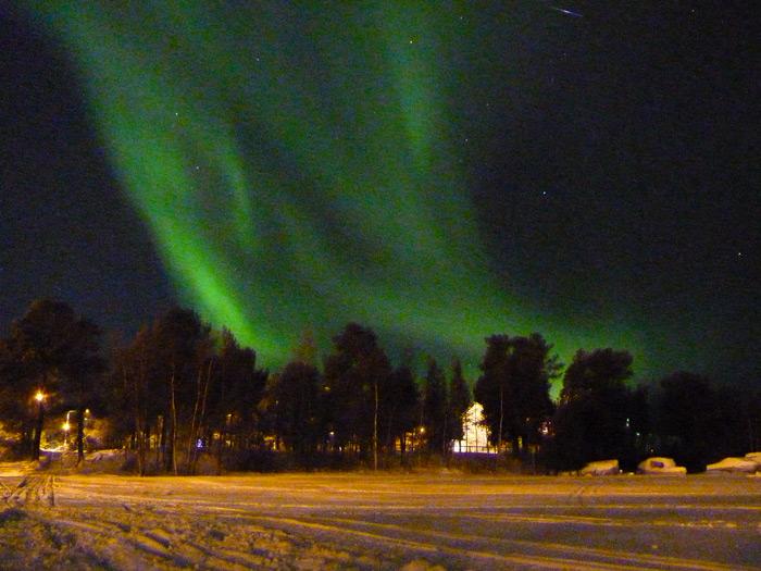 Polarlichter-Februar
