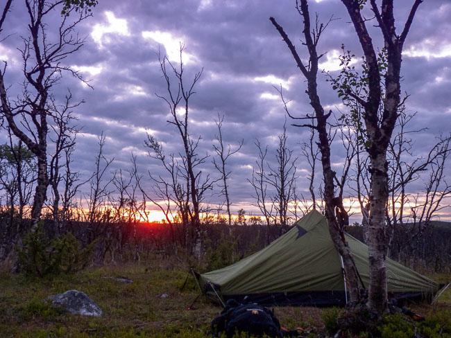 Zelten_Lappland