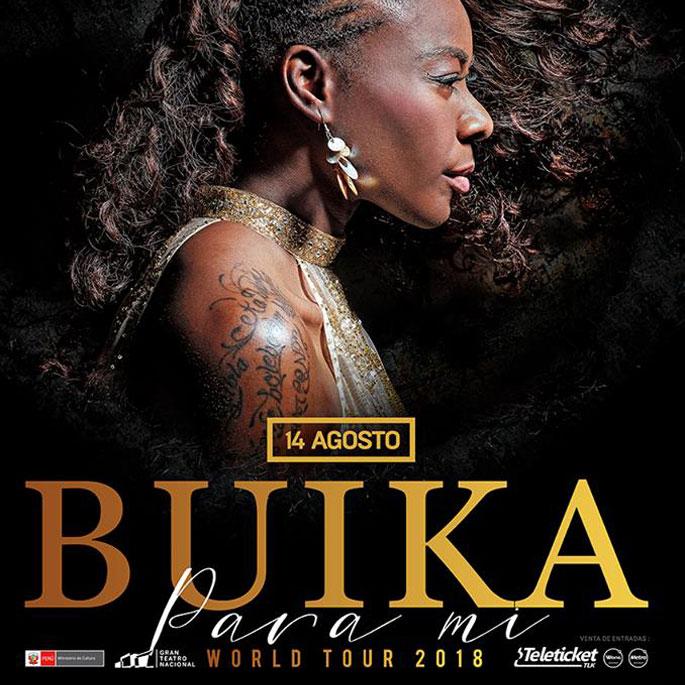 Concha Buika en el Gran Teatro Nacional