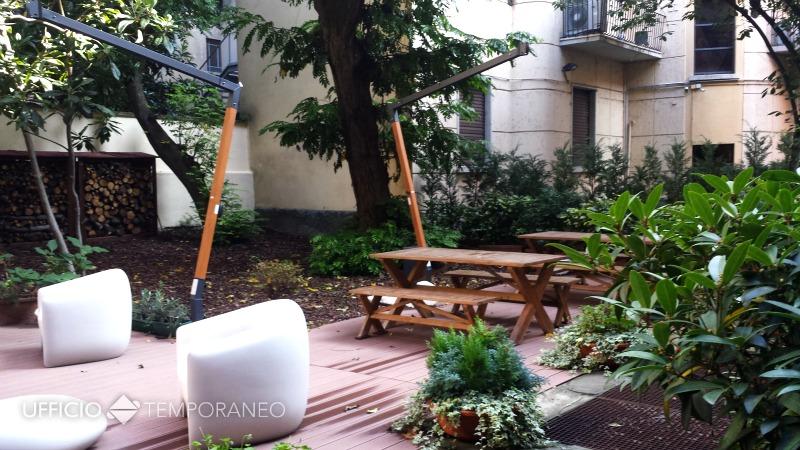 Milano lounge garden san babila ufficio temporaneo for Uffici condivisione milano