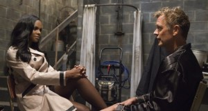 Jim Cryer (John Schneider) confronts his kidnapper Candace Young (Tika Sumpter)