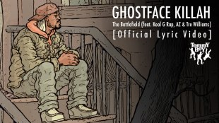 "Ghostface Killah – ""The Battlefield"" (feat. Kool G Rap, AZ & Tre Williams)"