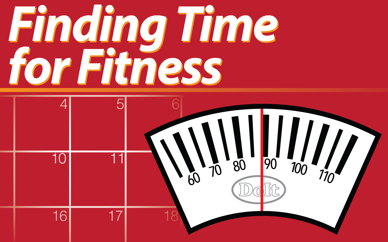 Finding Time for Fitness blog series