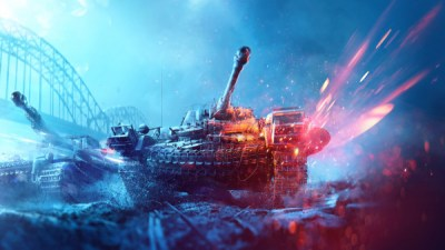 Battlefield 5 poster with tanks   HD 1920x1080 desktop wallpapers, 4K image 3840x2160