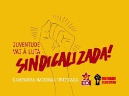 Vídeo da Campanha Juventude Vai à Luta Sindicalizada