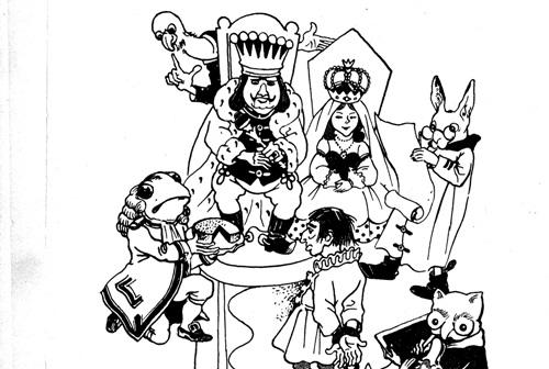 Lewis Carroll: Évike Tündérországban – Tizenegyedik fejezet