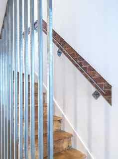 exposed brickwork in modern interior design