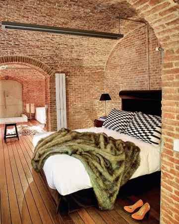 interior apartment madrid modern historical mix