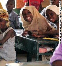 Help girls around the world receive a safe, quality education