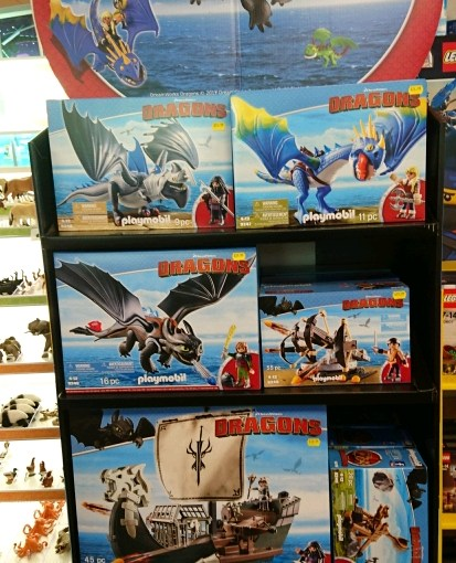 Playmobil Dragons at Silly Billys