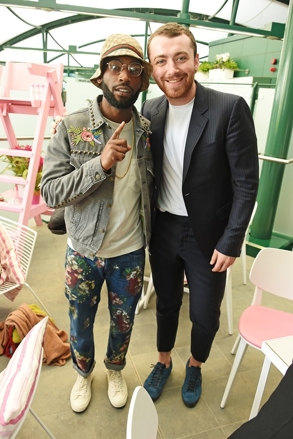 Tinie Tempah and Sam Smith Wimbledon Style