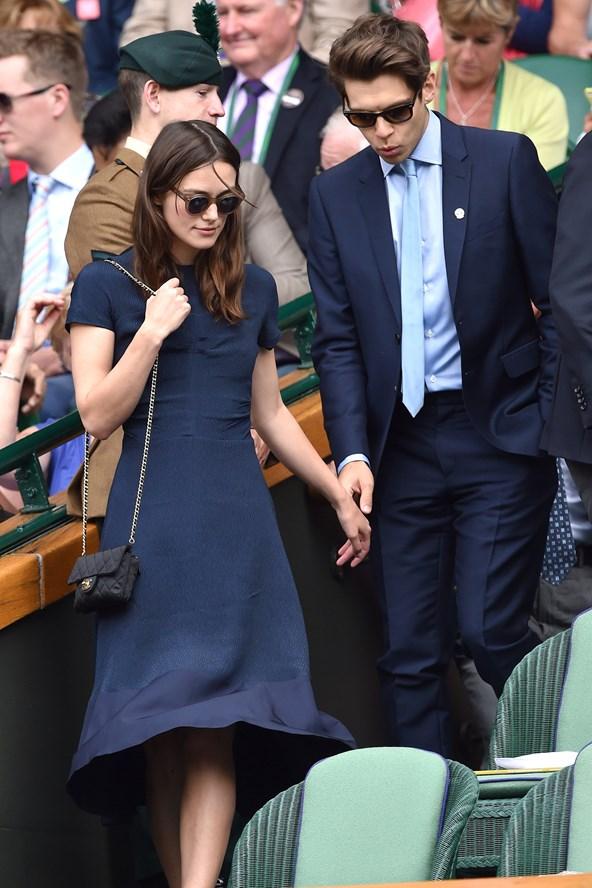 Keira Knightley Wimbledon Style