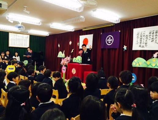 高輪幼稚園入園式2015